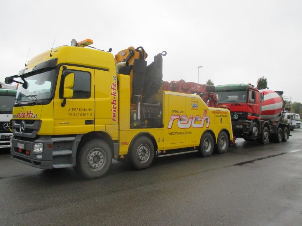 4-Achser-Fotogalerie Fahrzeugbergung