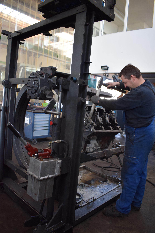 Motorinstandsetzung-Motor- & Getriebeinstandsetzung