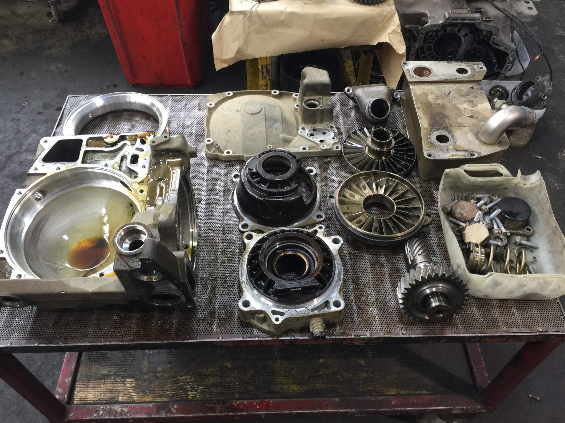 Retarder-Reparatur (3)-Dienstleistungen