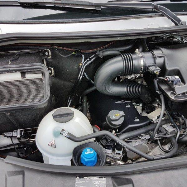 Sprinter Mercedes mit Schiebeplateau (1)