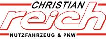 Christian Reich KFZ Logo Footer